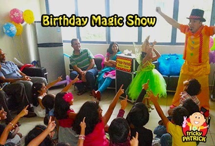 An amazing magic show???