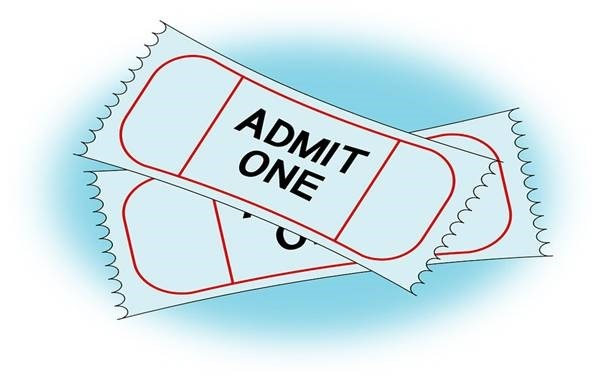 Tickets for your favorite play