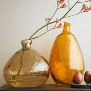 glass balloon vase