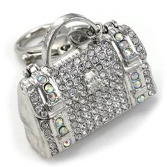 handbag purse keychain