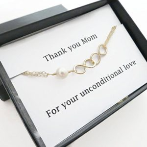 Infinity Bracelet with the card set