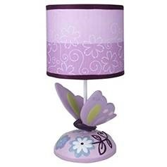 lamp with butterfly lane