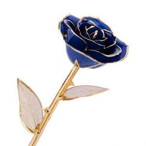 rose in gold