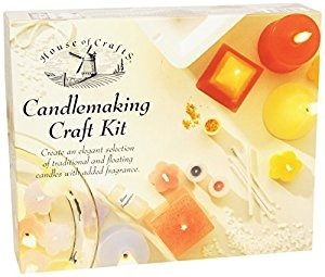 Craft kit for candlemaking