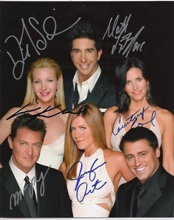 Favorite celebrity autograph sign