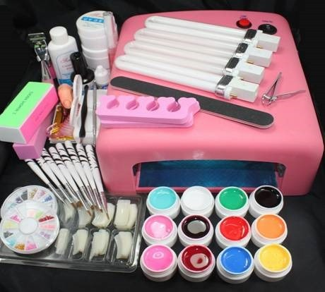 Nail art kit for youngsters