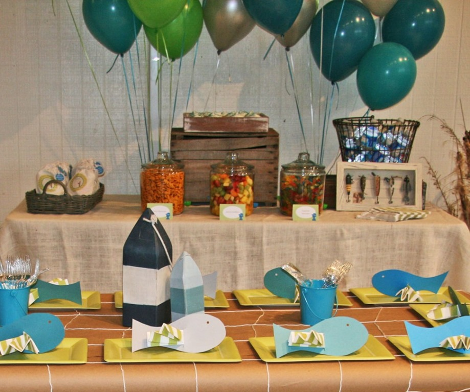 You Can Have Your 60th Birthday Party Theme With Fishing Be Done Any Time Of The Year Especially In Summer
