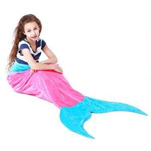 Mermaid Tail Blanket Super Soft Fleece Sleeping Bags