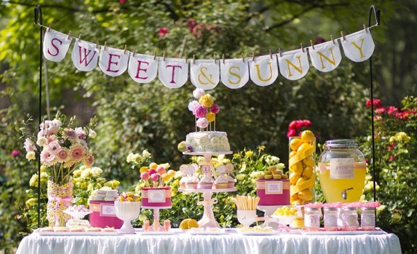 Sweet and Sunny Lemonade Party