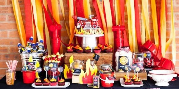 A Fireman party