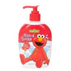 *3 Pack* Sesame Street Elmo Hand Soap for Kids Cherry-berry