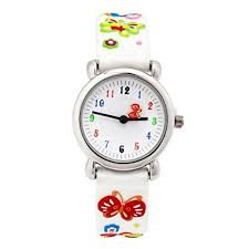 Cute Cartoon Digital Silicone Wristwatches Time Teacher