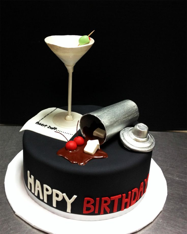Great wine cake for him