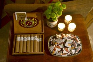 A cigar bar