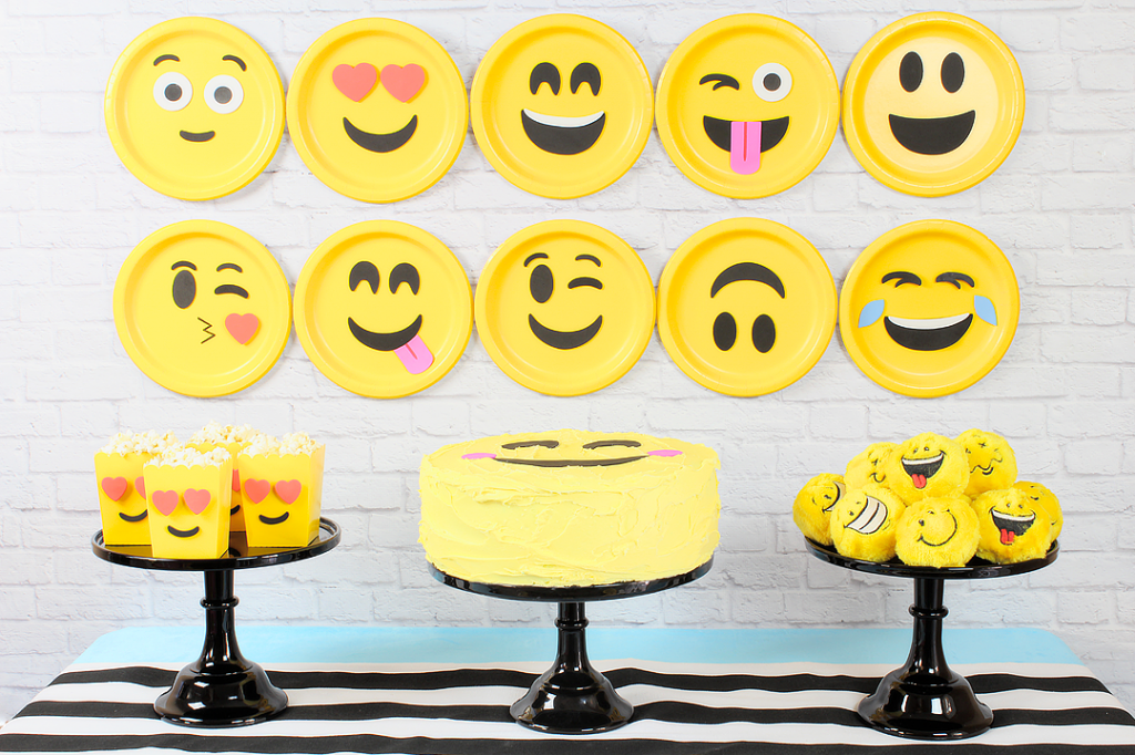 Get The Party Going With Crazy Emoji Themed Birthday Ideas