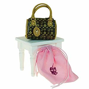 Brown Faux Leather Handbag With Sleeper Bag