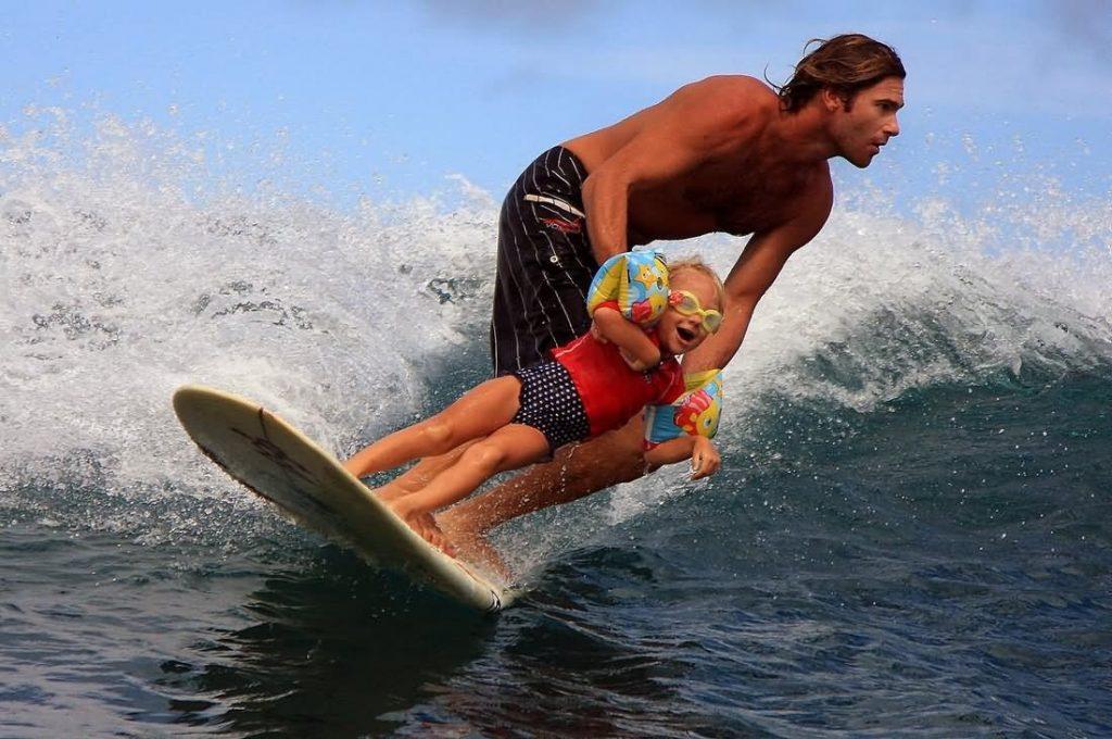 Surfing I enjoy
