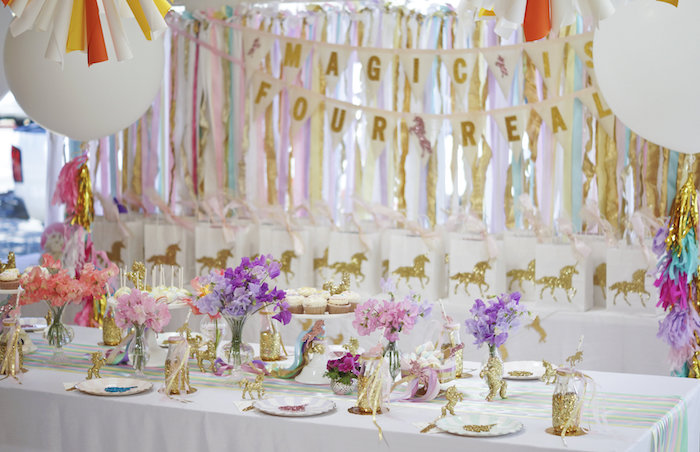 Exhilarating Unicorn Birthday Party Ideas