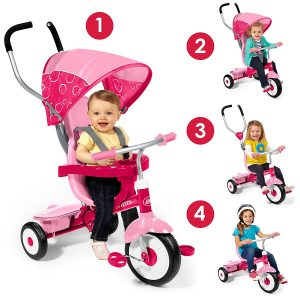 For A Year Old Child Its Safety Features Are Ones To Look Forward With Smooth Harnesses And Pedals That Turn Into Footrests It Gives Them The Joy Of
