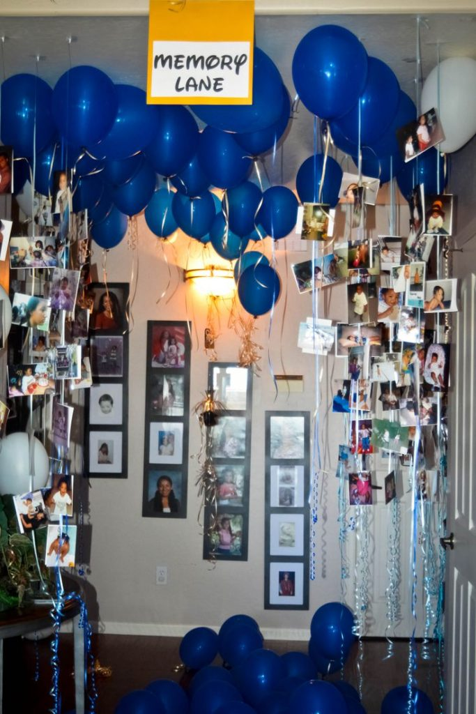 All One Needs To Do Is Add Some Pictures The Balloons And Let Hit Ceiling While Birthday Boy Or Girl Not In Room