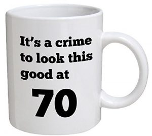 Funny Birthday Mug with a Quirky Message