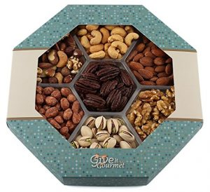 Give it gourmet, freshly roasted delicious nuts.