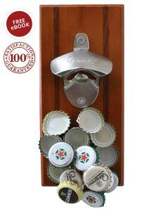 Wall Mounted Beverage Bottle Opener
