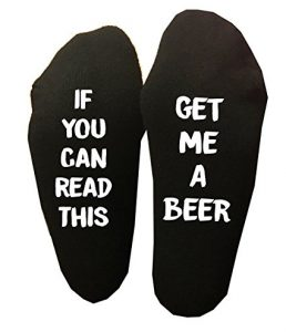 Socks with funny quotes