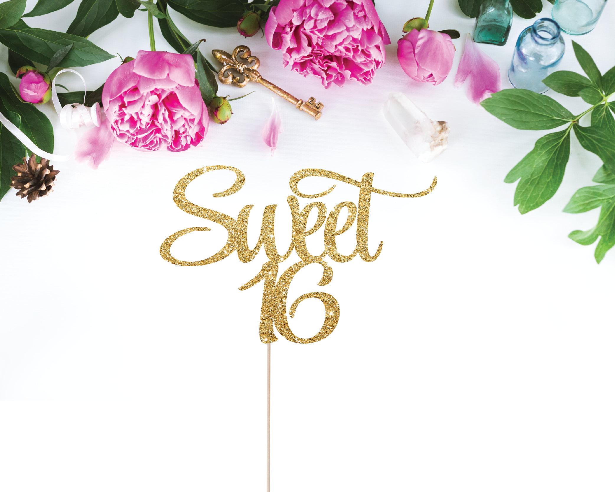sweet 16 birthday gift ideas