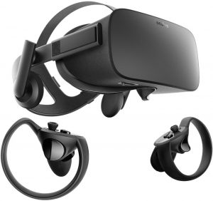 2 Oculus Rift Touch Virtual Reality System
