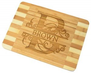 Custom Engraved Bamboo Cutting Board