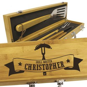 Custom Engraved BBQ Grilling Gift