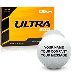 Wilson Ultra Personalized Golf Balls
