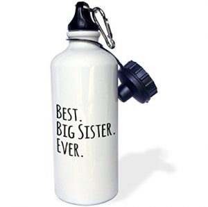 gifts-for-sister-Best Big Sister Ever Sports Water Bottle