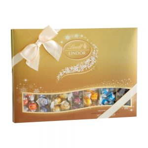 Lindt Holiday Deluxe Assorted Chocolate Set