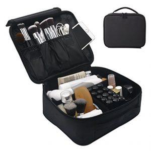 Portable Travel Makeup Train Case