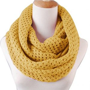 Knitted Winter Warm Infinity Scarf