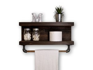 Handmade Two Tier Bathroom Shelf