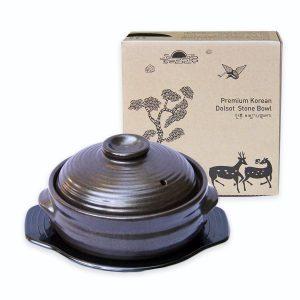 Korean Dolsot Cooking Stone Bowl