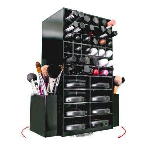 Spinning Acrylic Makeup Organizer