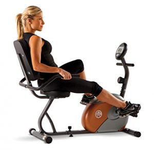 Marcy Recumbent Exercise Cycle with Resistance ME-709