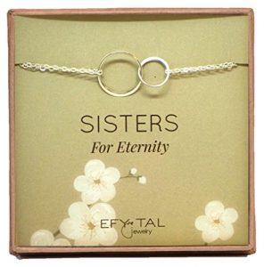 Sisters for Eternity Sterling Silver Bracelet
