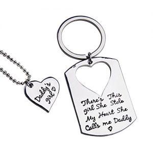 Key Chain with a Heartfelt Words
