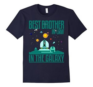 Best Brother in Law in the Galaxy Funny Printed T-Shirt