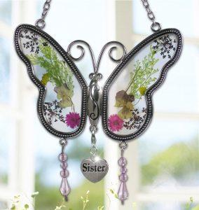 Sister Butterfly Sun Catcher