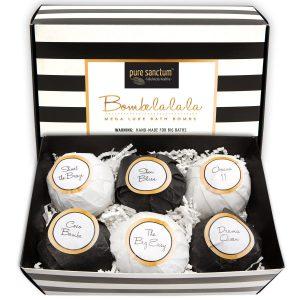 Luxury Bath Bombs Gift Set
