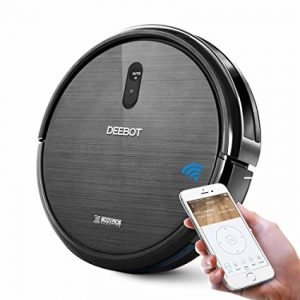 ECOVACS Robotic Vacuum Cleaner with Suction