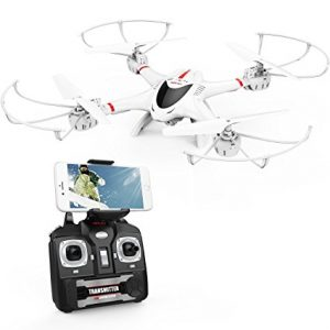FPV Drone with Wi-Fi Camera