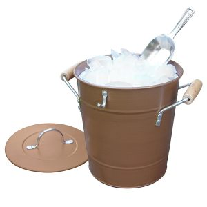 Antic Rustic Style Copper Ice Bucket
