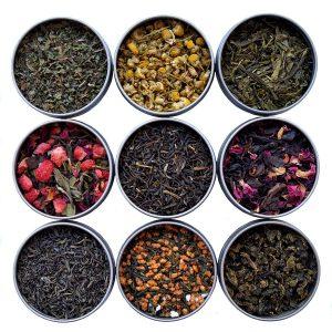 9 Flavors Heavenly Tea Leaves Samplers